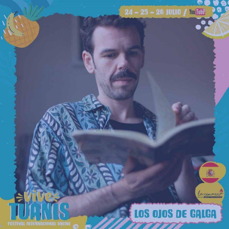 Los versos de Galga en festival Tuanis Banana