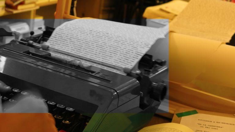 Transcribiendo On the road de Jack Keruac
