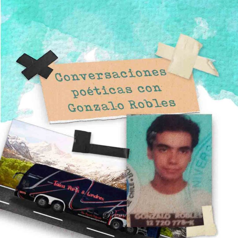 Palabras cruzadas con el poeta Gonzalo Robles