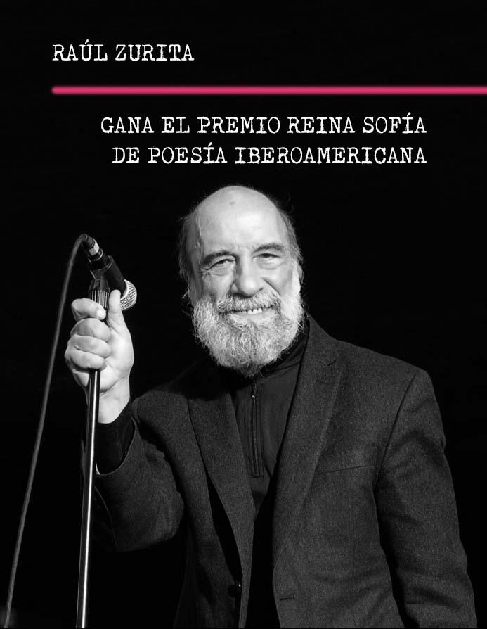Raúl Zurita Gana Premio Reina Sofía de Poesía Iberoamericana