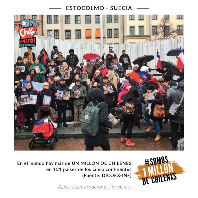 La comunidad chilena en el extranjero exige un distrito internacional para Chile.