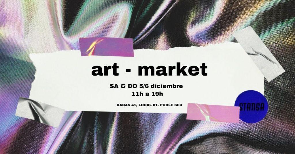 art market STANSA. haz la cimarra el fin de semana